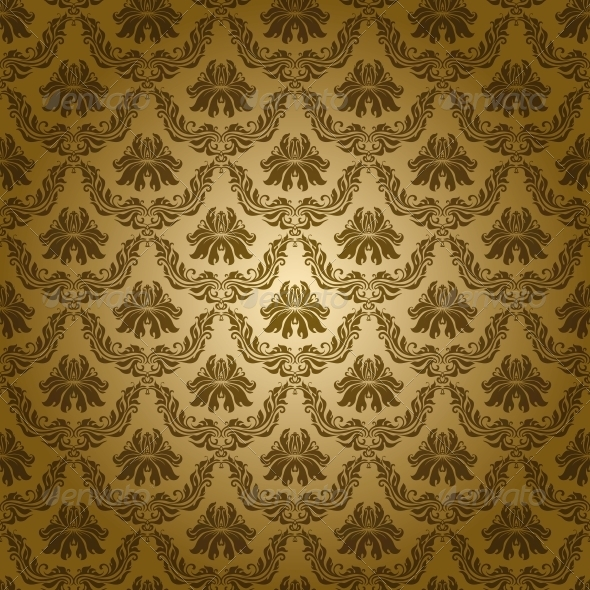 Gold Wallpaper Graphics Designs Templates From GraphicRiver