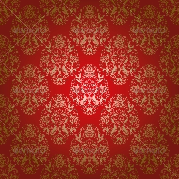 GraphicRiver Damask Seamless Floral Pattern 4594647