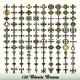 Collection of 120 Isolated Classic Crosses - GraphicRiver Item for Sale