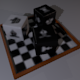 Dice, Chess theme - 3DOcean Item for Sale