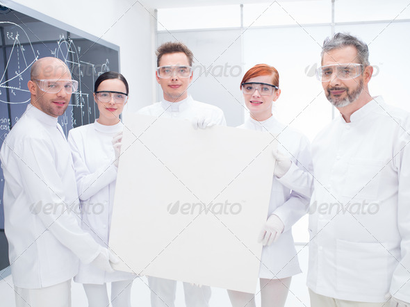 chemist  laboratory team - Stock Photo - Images