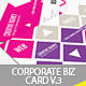 Creative Corporate Business Card V.3 - GraphicRiver Item for Sale