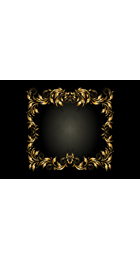 Luxury,Gold, Frame, Ribbon,