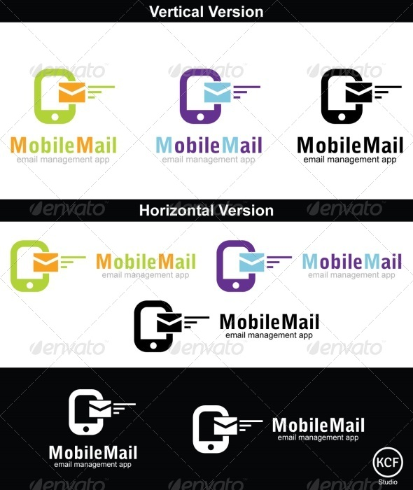 GraphicRiver Mobile Mail Logo Design 4515239