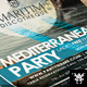 Mediterranean Party Flyer - GraphicRiver Item for Sale