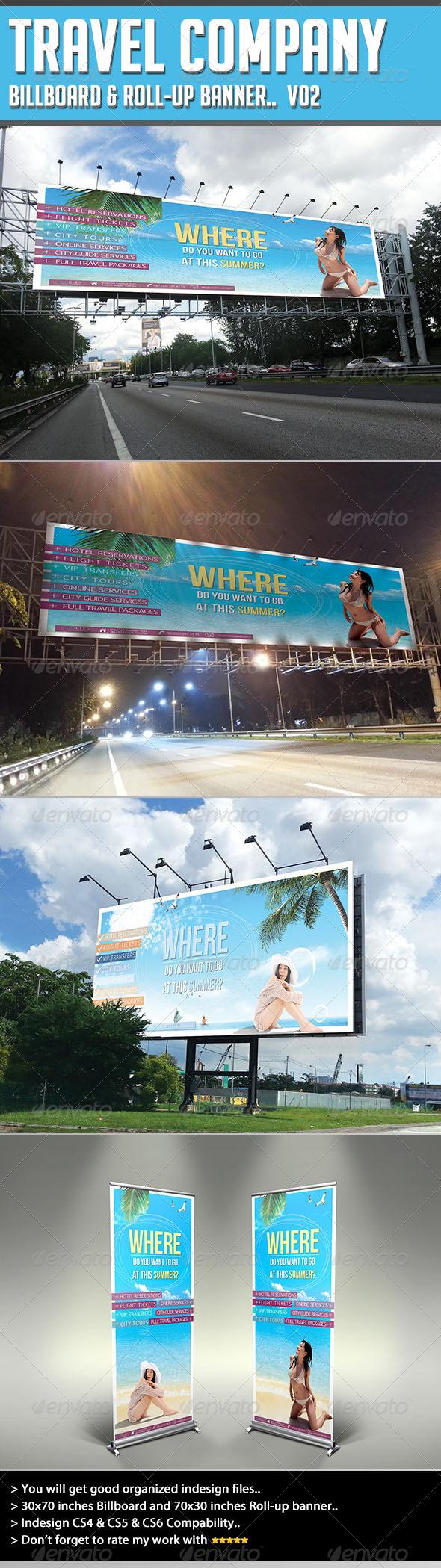 GraphicRiver Billboard Template Circles Travel 4595632