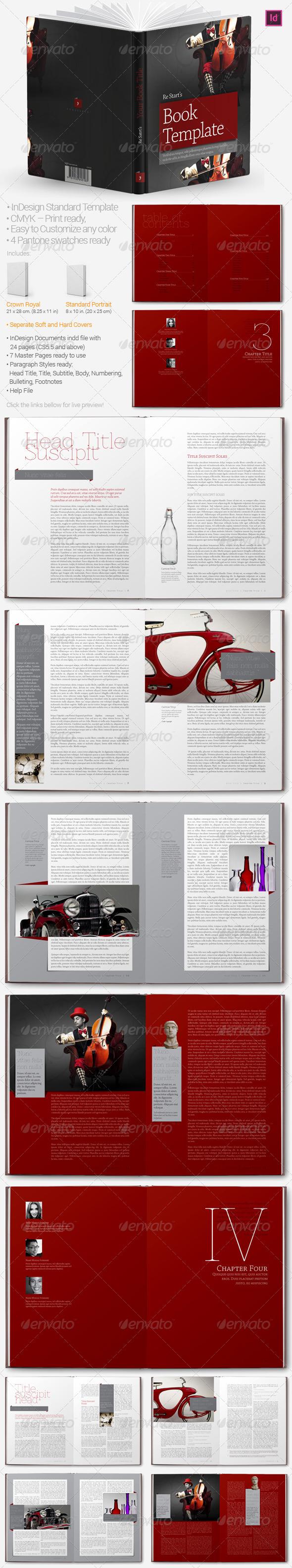 GraphicRiver Book Templates 4595660