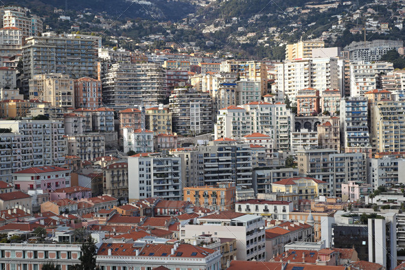 Monaco real estate - Stock Photo - Images