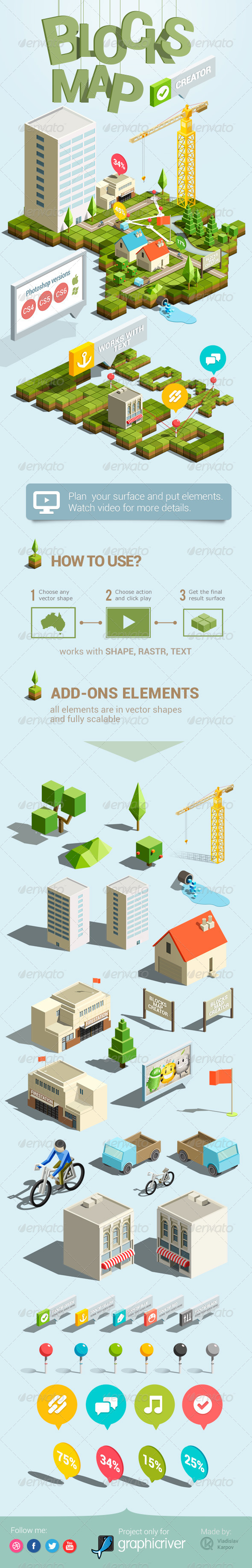 GraphicRiver Blocks Map Creator 4595997