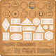 Blank Borders and Grunge Rubber Stamps Vector - GraphicRiver Item for Sale
