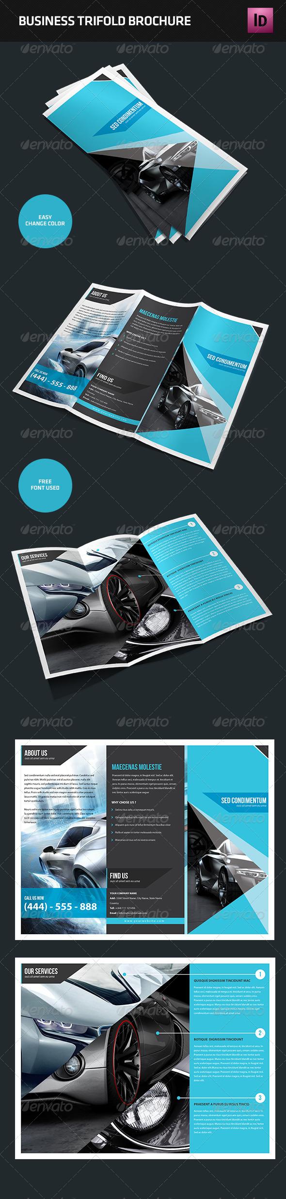 GraphicRiver Trifold Brochure 4512775