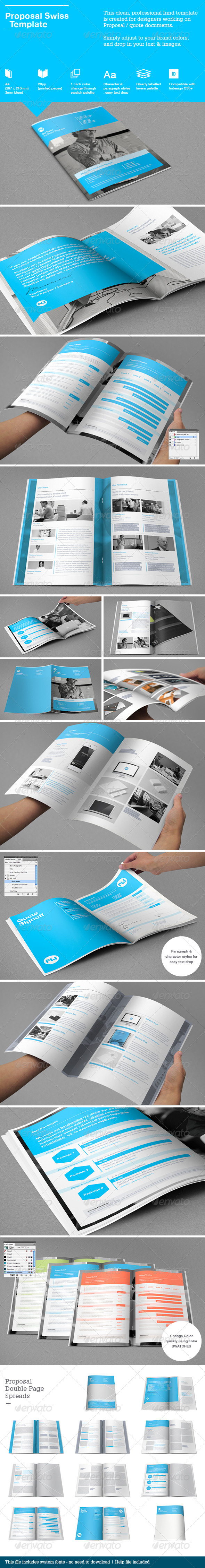 GraphicRiver Swiss Proposal Template 4596448