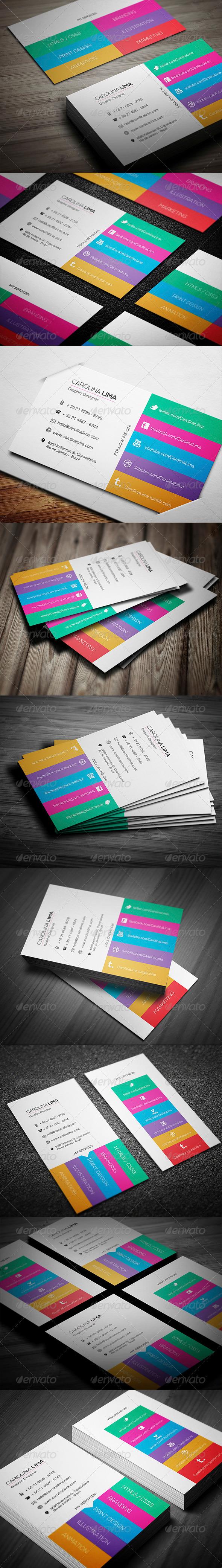 GraphicRiver Designer Business Card 4596522