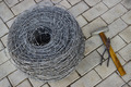 Bay of barbed wire and tool - PhotoDune Item for Sale