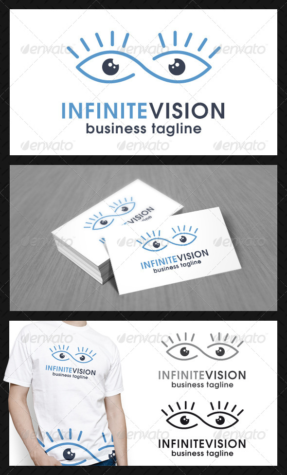 GraphicRiver Infinite Eye Vision Logo Template 4580544