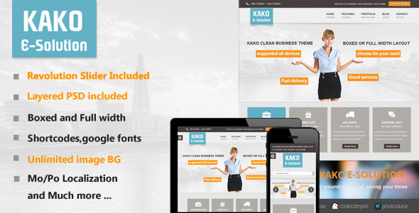Baractic Multi-Purpose WordPress Theme