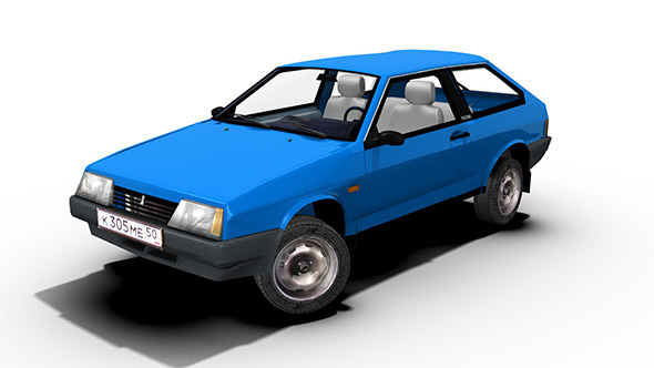 Lada Sputnik (Samara) 1984 - 3DOcean Item for Sale