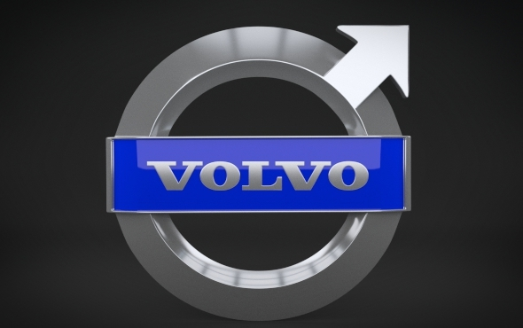Volvo Logo - 3DOcean Item for Sale