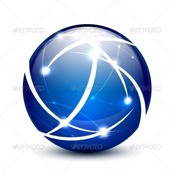 GraphicRiver Vector Communication Globe Icon Concept 4597744