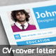 Metro Inspiro Resume & Cover Letter - GraphicRiver Item for Sale