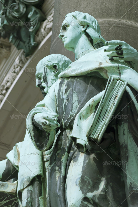 Berlin Cathedral Details - Stock Photo - Images