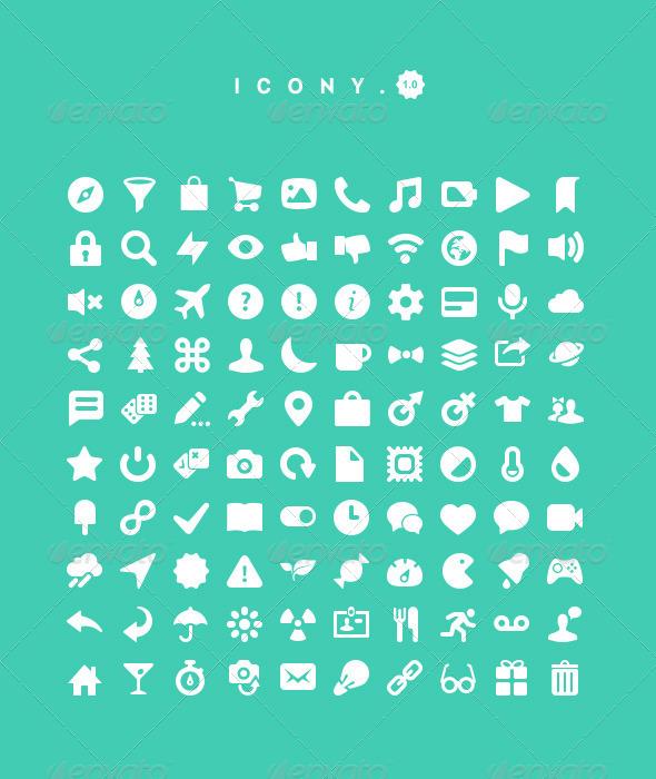 GraphicRiver Icony 4598793