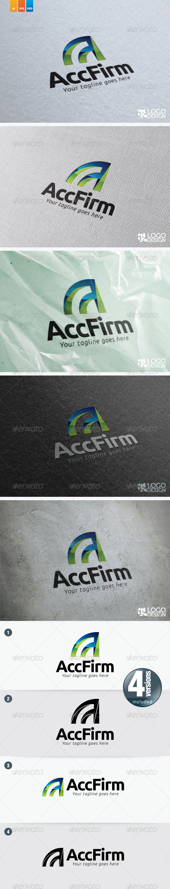 Account Firm - Vector Abstract