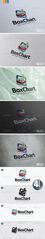 Boxed Chart - Symbols Logo Templates