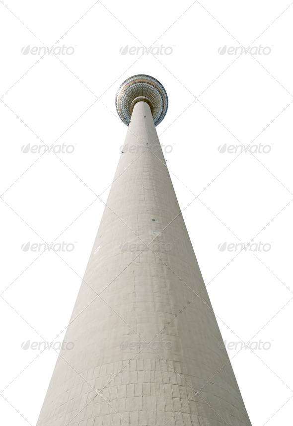 TV Tower Berlin - Stock Photo - Images