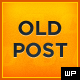 Old Post - WordPress Tumblog Theme - ThemeForest Item for Sale