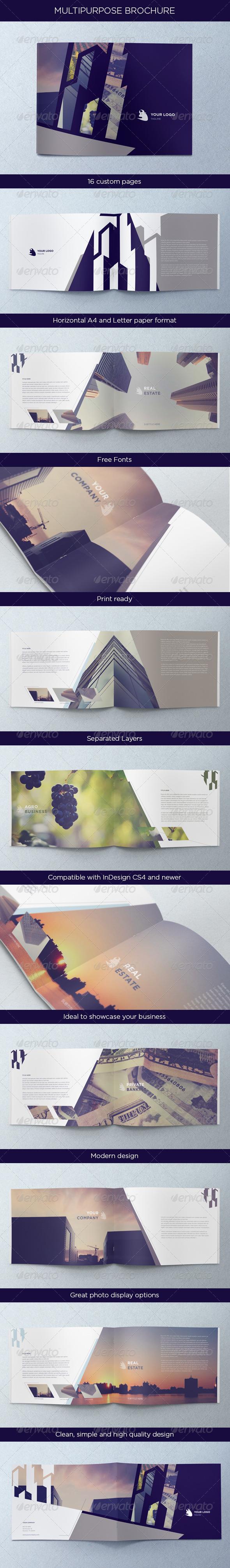 GraphicRiver Multipurpose Brochure 4599702