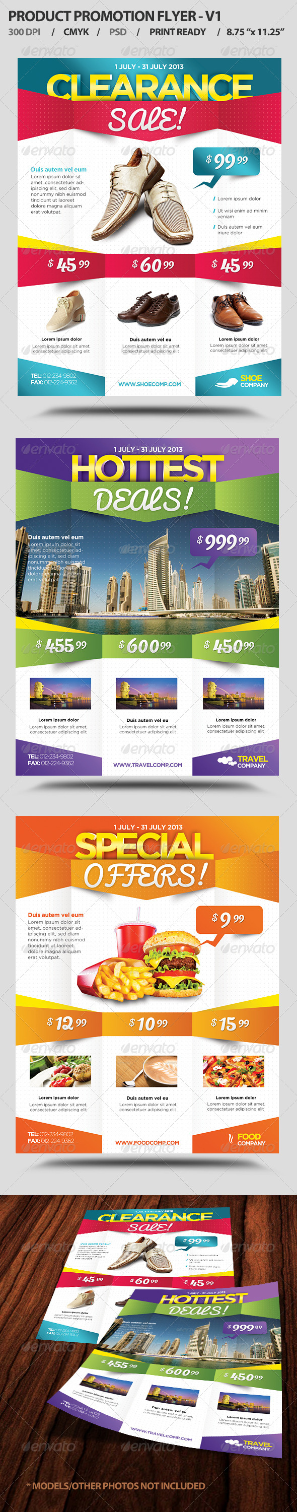 GraphicRiver Product Promotion Flyer V1 4599847