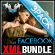 Facebook Fan Page Template Bundle - ActiveDen Item for Sale