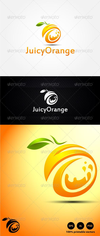 Juicy Orange Logo - Symbols Logo Templates