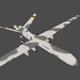 Predator UAV Lowpoly