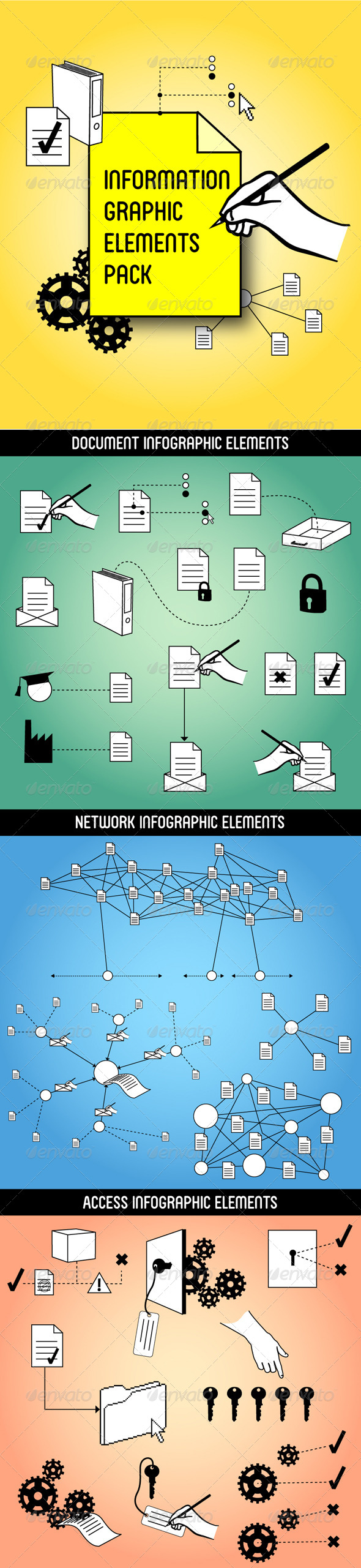 GraphicRiver Information Graphic Elements Pack 4562414