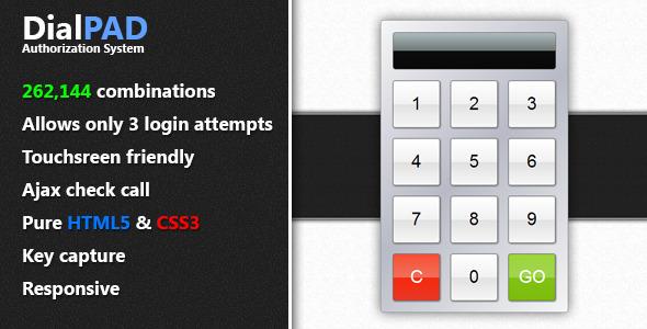 CodeCanyon DialPAD Authorization System 4588159