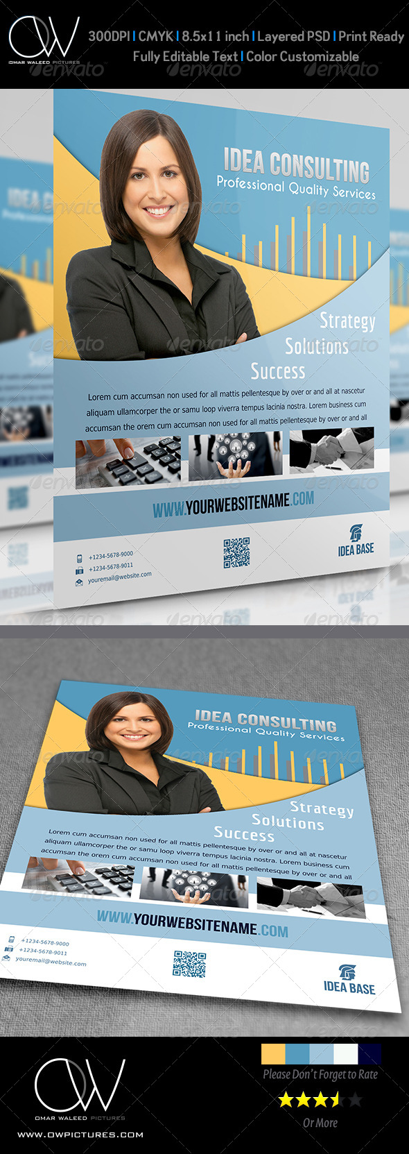 Corporate Flyer Vol.6 - Flyers Print Templates