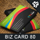 Business Card Design 80 - GraphicRiver Item for Sale