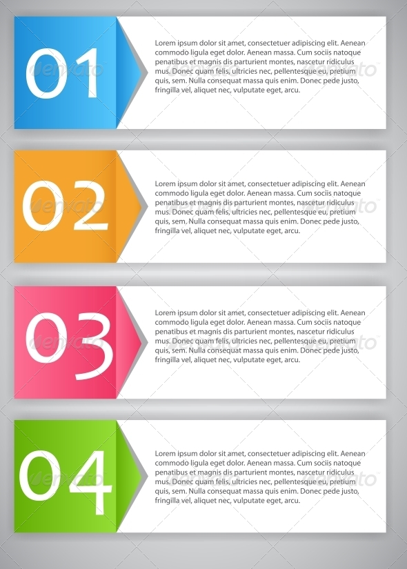 GraphicRiver Infographic Template Vector Illustration 4600742