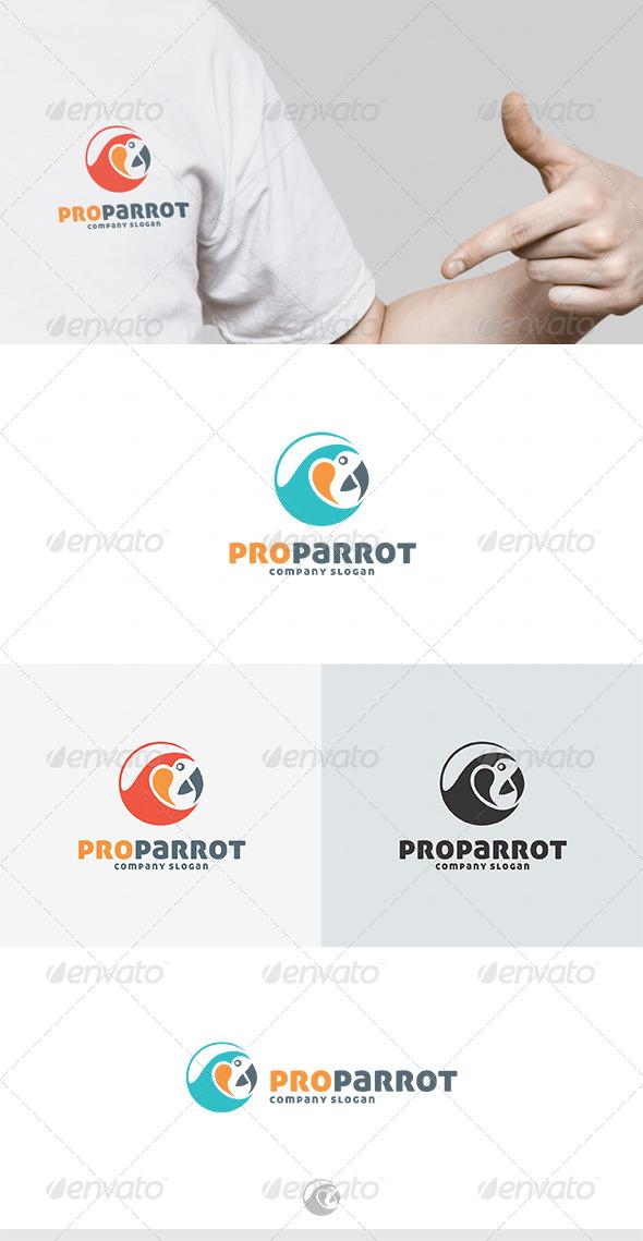 GraphicRiver Pro Parrot Logo 4601031