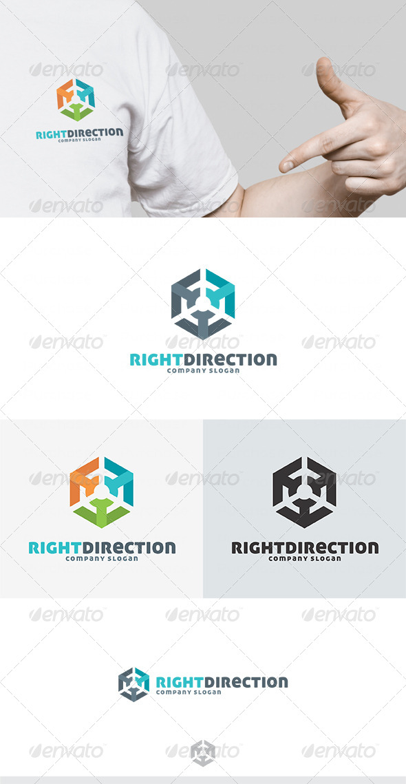GraphicRiver Right Direction Logo 4601480