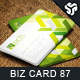 Business Card Design 87 - GraphicRiver Item for Sale