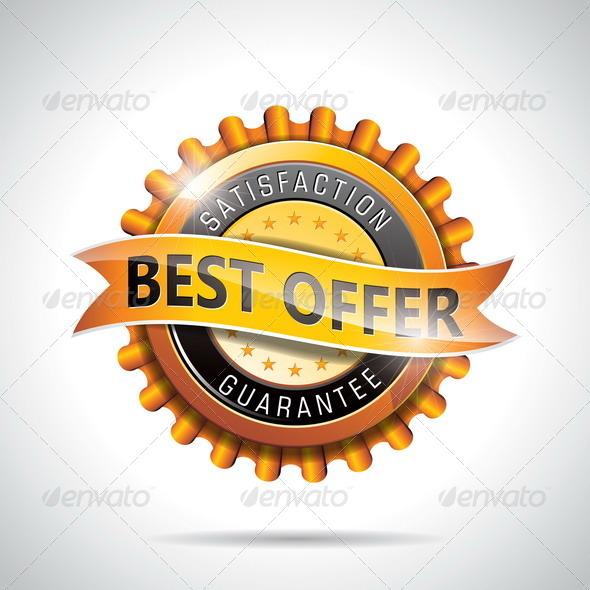 GraphicRiver Best Offer Labels Illustration 4602581