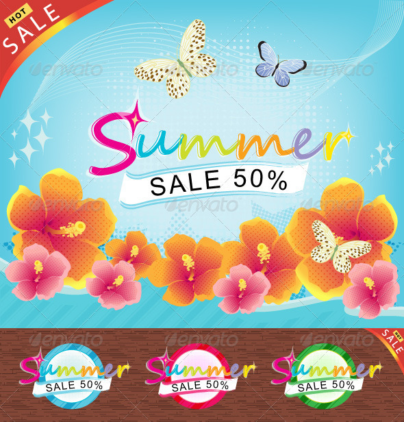 Summer Sale Theme