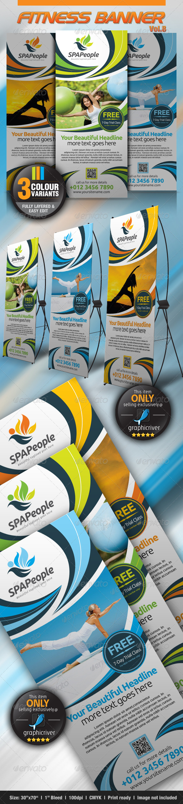 GraphicRiver Fitness Banner Vol.8 4602852