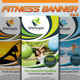 Fitness Banner Vol.8 - GraphicRiver Item for Sale