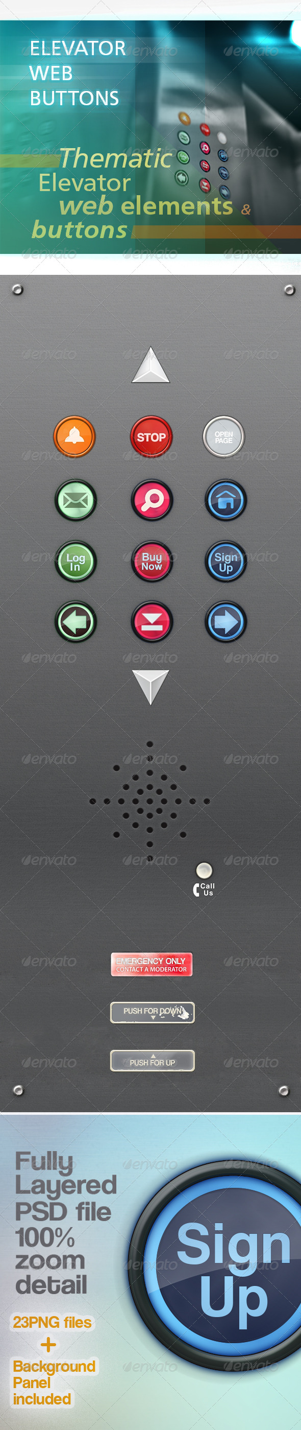 GraphicRiver Web Buttons Elements 4602859