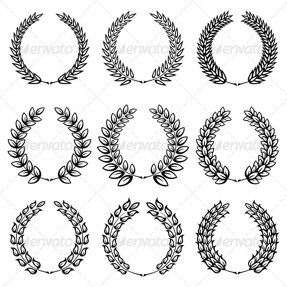 GraphicRiver Laurel Wreath 4602998