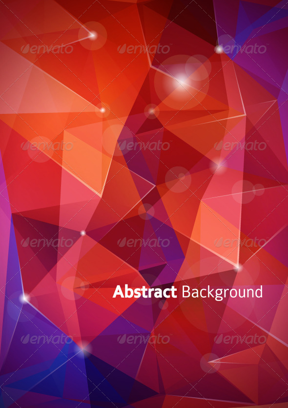 Abstract Polygon Background - Backgrounds Business